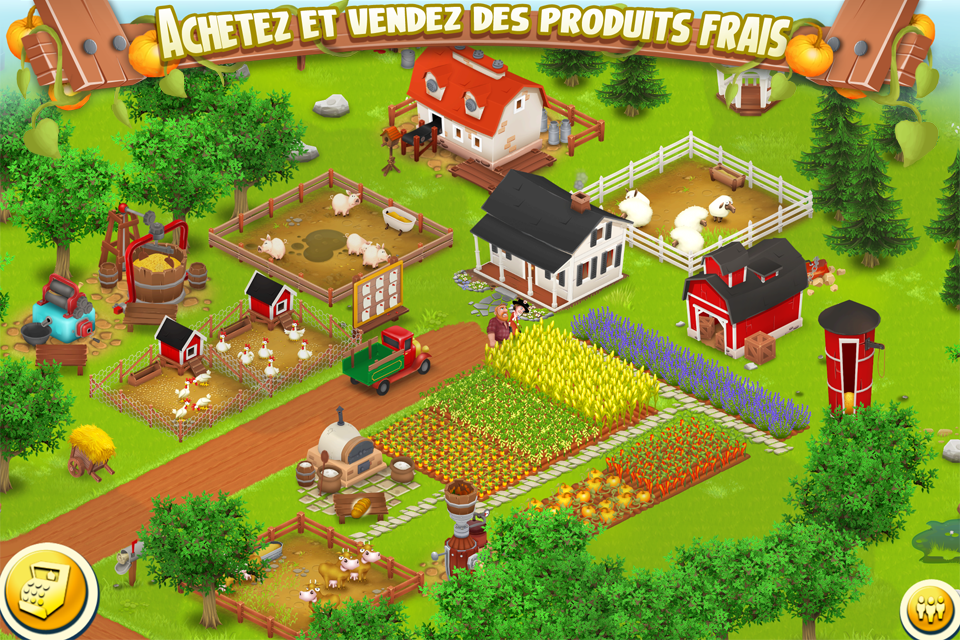 Hay Day disponible sur : iPhone